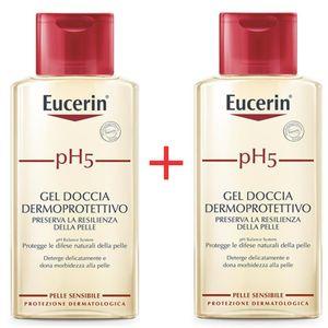 Eucerin -Ph5 Gel Doccia Bipacco Dermoprotettivo Confezione 2X400 Ml