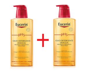 Eucerin - Ph5 Olio Detergente Doccia Bipacco Confezione 400 + 400 Ml