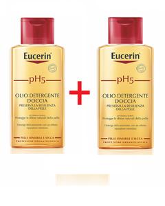 Eucerin - Ph5 Olio Detergente Doccia Bipacco Confezione 200 + 200 Ml