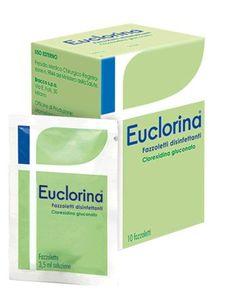 Euclorina - Fazzoletti Disinfettanti Confezione 10 Pezzi