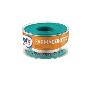 Meds - Cerotto Ipoallergenico In Tnt 500X1,25 Cm Confezione 1 pezzo