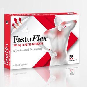 FastuFlex - Cerotto Medicato 180 Mg Confezione 10 Pezzi (Confezione Danneggiata)