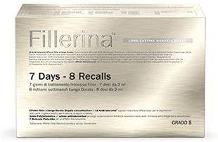 Fillerina - Long Lasting Durable Filler 7 Days/8 Recalls Grado 5 Confezione 3 Pezzi
