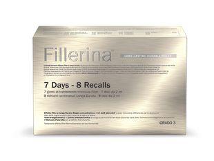 Fillerina - Long Lasting Durable Filler 7 Days/8 Recalls Grado 3 Confezione 3 Pezzi