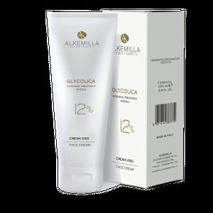 Alkemilla - Glycolica Crema Viso 12% Confezione 100 Ml