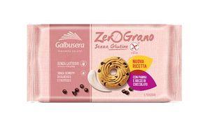Galbusera - Zerograno Biscotti Panna e Cioccolato Senza Glutine Confezione 220 Gr