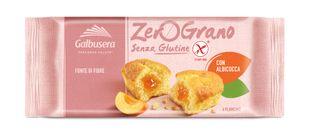 Galbusera - Zerograno Plumcake Albicocca Senza Glutine  Confezione 180 Gr