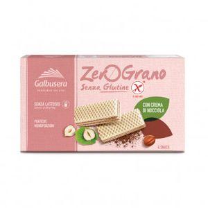 Galbusera - Zerograno Wafer Nocciola Senza Glutine Confezione 180 Gr (Scadenza Prodotto 28/06/2021)