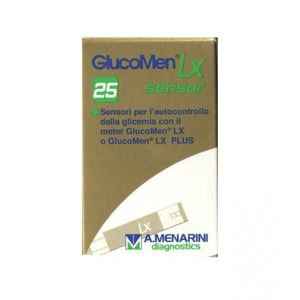 Glucomen - LX Sensors Controllo Glicemia Confezione 25 Strisce (Scadenza Prodotto 30/06/2021)