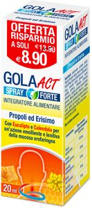 Gola Act - Spray Forte Confezione 20 Ml