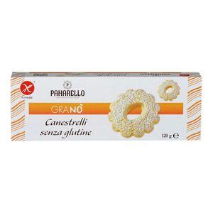 Granò - Canestrelli Senza Glutine Confezione 120 Gr (Scadenza prodotto 30/07/2021)