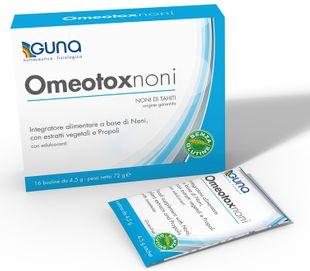 Guna - Omeotox Noni Confezione 16 Bustine (Scadenza Prodotto 01/09/2021)