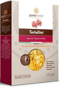 Gustamente - Tortellini Al Prosciutto Crudo Senza Glutine Confezione 250 Gr (Scadenza Prodotto 12/05/2021)