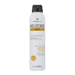 Heliocare - 360 Invisible Spray Protezione 30+ Confezione 200 Ml