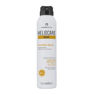 Heliocare - 360 Invisible Spray Protezione 50+ Confezione 200 Ml