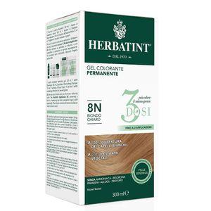 Herbatint - 3 Dosi 8N Confezione 300 Ml