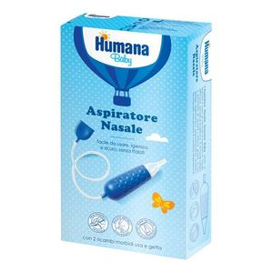 Humana - Aspiratore Nasale Confezione 1 + 2 Ricambi