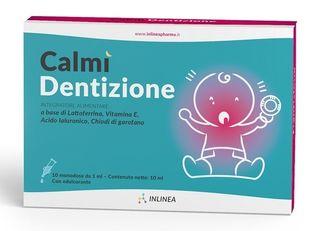 Inlinea - Calmì Dentizione Confezione 10 Flaconcini Monodose