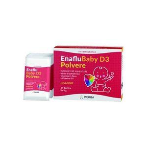 Inlinea - Enaflu Baby D3 Polvere Confezione 14 Bustine