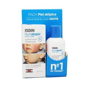 Isdin - Nutratopic Pack Crema Viso + Lozione Corpo Confezione 2 Pezzi