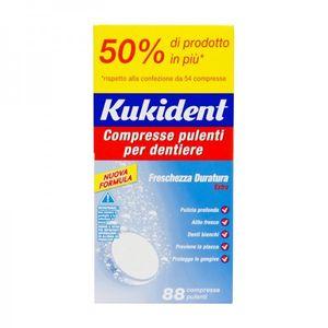 Kukident - Cleanser Fresh Confezione 88 Compresse