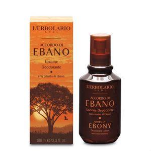 L'Erbolario - Accordo Ebano Lozione Deodorante Confezione 100 Ml