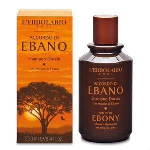 L'Erbolario - Accordo Ebano Shampoo Doccia Confezione 250 Ml