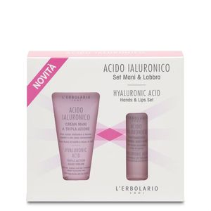 L'Erbolario - Acido Ialuronico Set Mani&Labbra 30 + 4.5 Ml