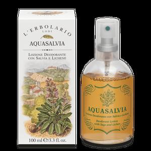 L'Erbolario - Aquasalvia Lozione Deodorante Spray Confezione 100 Ml