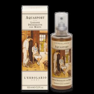 L'Erbolario - Aquasport Lozione Deodorante Con Mirto Confezione 100 Ml