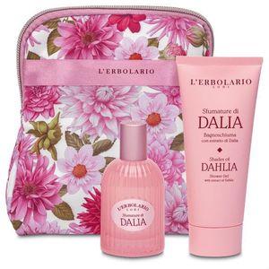 L'Erbolario - Beauty Set Foglie Sfumature Dalia Profumo 50 Ml + Bagnoschiuma 100 Ml