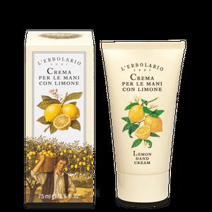 L'Erbolario - Crema Mani Al Limone Confezione 75 Ml