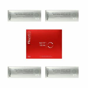 Laboratoires Fillmed - Kit Meso Needling Nctf 135HA 10 Fiale Da 3 Ml + Derma Roller + 3 Ricariche Roller