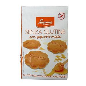 Lazzaroni - Frollini Yogurt Miele Senza Glutine Confezione 200 Gr (Scadenza Prodotto 28/12/2020)