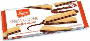 Lazzaroni - Wafers Al Cacao Senza Glutine Confezione 175 Gr