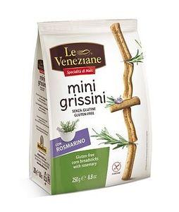 Le Veneziane - Mini Grissini Con Rosmarino Confezione 250 Gr