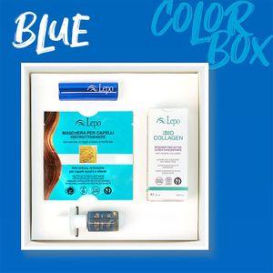 Lepo - Color Box Blue Confezione 4 Pezzi