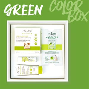 Lepo - Color Box Green Confezione 4 Pezzi