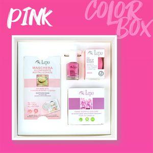 Lepo - Color Box Pink Confezione 4 Pezzi