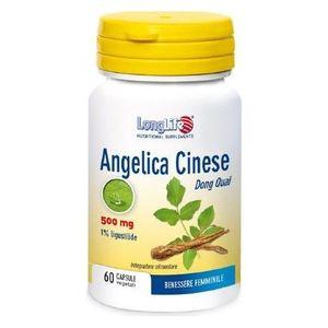 Longlife - Angelica Cinese Confezione 60 Capsule (Scadenza Prodotto 28/01/2022)