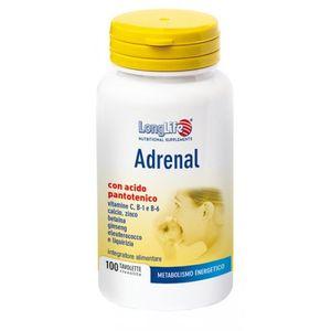 Longlife - Mineralogramma Adrenal Confezione 100 Tavolette (Scadenza Prodotto 12/06/2021)