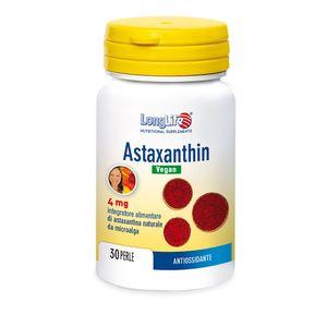Longlife - Astaxantin Vegan Confezione 30 Perle (Scadenza Prodotto 10/05/2021)