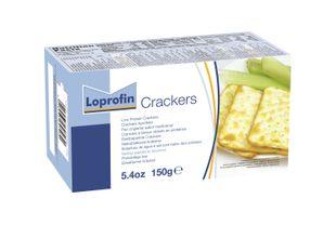 Loprofin - Crackers Aproteici Confezione 150 Gr