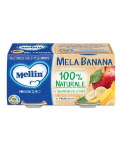 Mellin - Omogeneizzato Mela E Banana Confezione 2X100 Gr