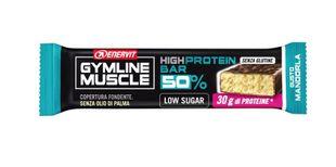 Enervit - Gymline Muscle High Protein Barretta 50% Gusto Mandorla Confezione 60 Gr