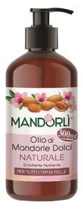 Mandorlì - Olio Di Mandorle Dolci Naturale Confezione 300 Ml