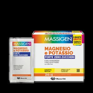 Marco Viti - Magnesio e Potassio Forte Zero Zuccheri Confezione 24+6 Bustine