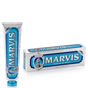 Marvis - Dentifricio Menta Acquatica Confezione 85 Ml