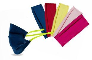 Mascherina - Bambini FFP1 Filtrante Lavabile Multicolor Confezione 5 Pezzi