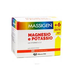 Marco Viti - Massigen Magnesio e Potassio Confezione 24+6 Bustine